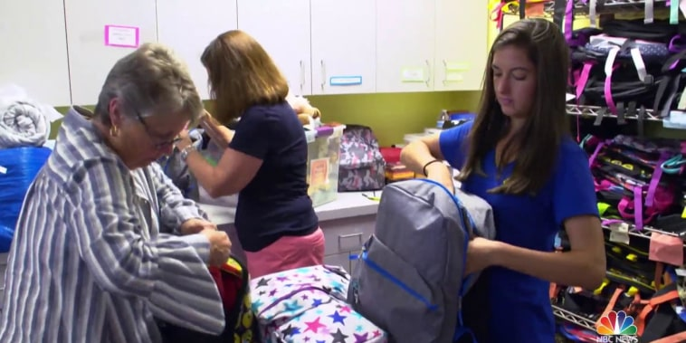 Nonprofit gives backpacks full of hope to children in foster care