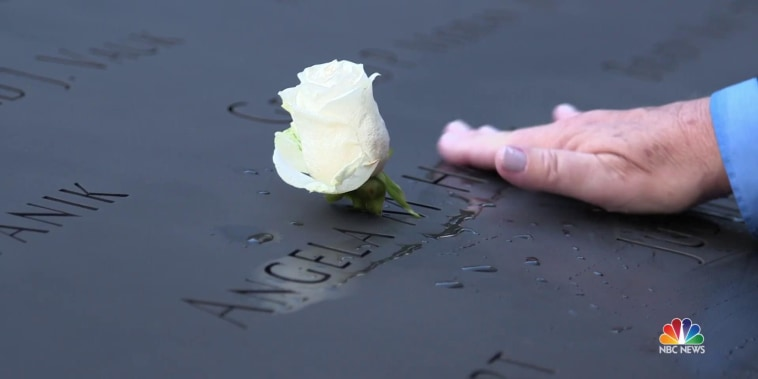 A single rose celebrates each life lost on 9/11