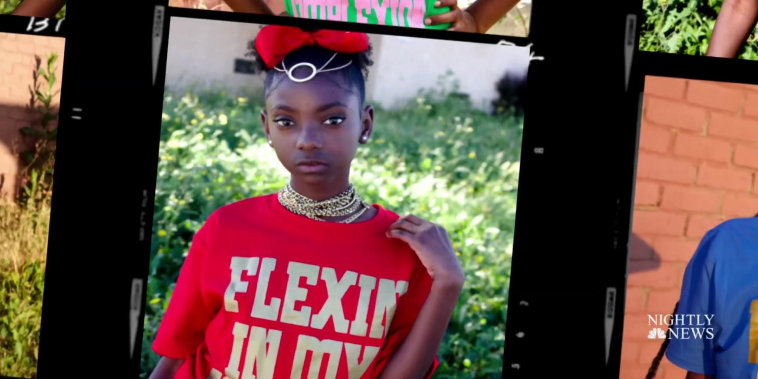 12-year-old bullied for her skin color empowers others with clothing business