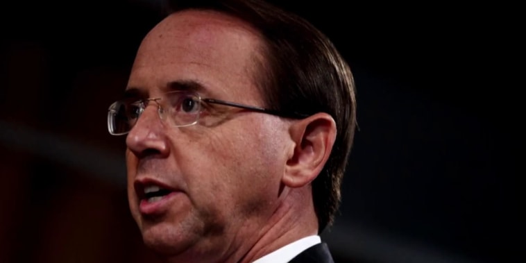 Rosenstein decision postponed for now as he and Trump set Thursday meeting