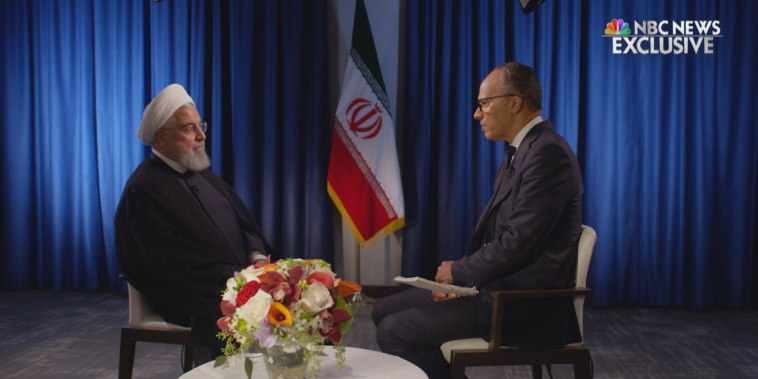 Extended interview: Iranian President Hassan Rouhani