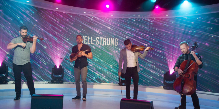 Quartet Well-Strung performs live on TODAY