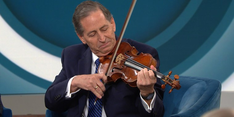 How 1 neurosurgeon helped save this violinist's storied career