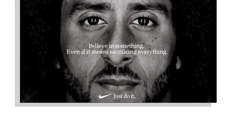 Colin Kaepernick named the face of Nike's 'Just Do It' campaign