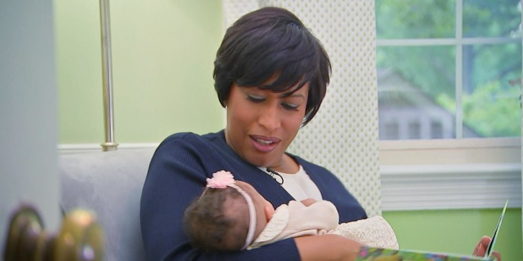 Hoda shares DC Mayor Muriel Bowser's sweet adoption story
