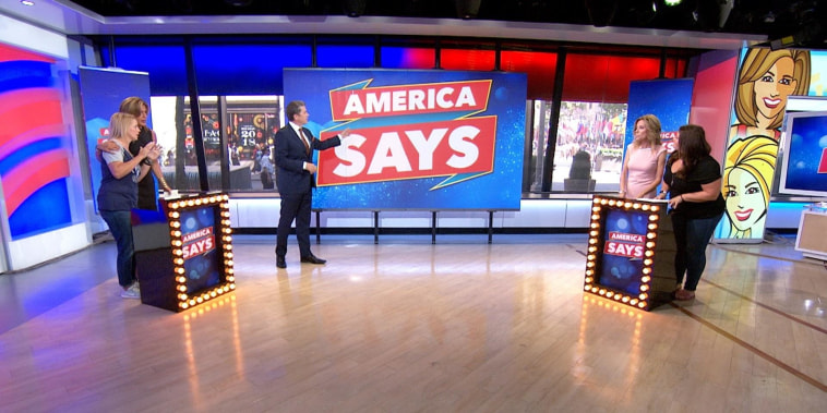 KLG and Hoda play 'America Says' with John Michael Higgins