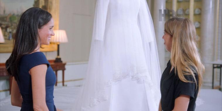 Duchess Meghan reunites with wedding dress, reveals precious secret