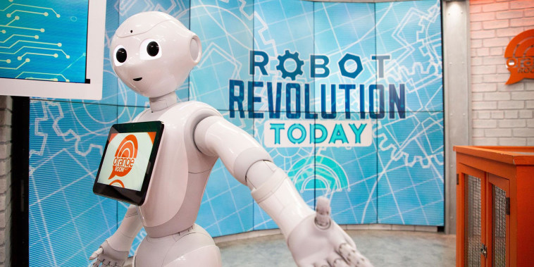 The TODAY team meets the robots changing the future