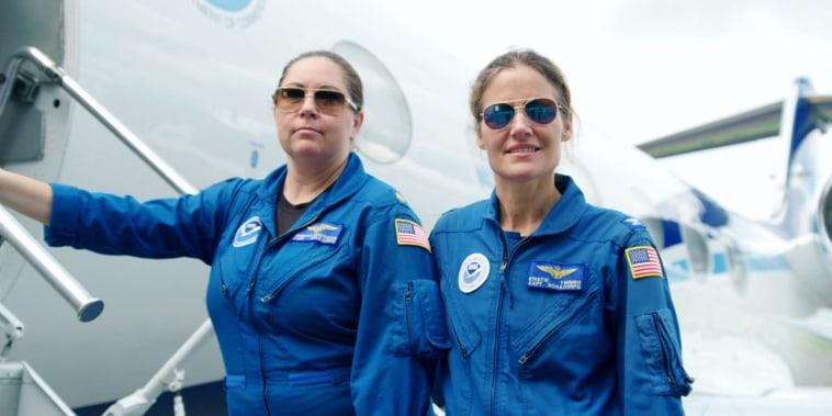 Meet the 2 hurricane hunters making history in the skies