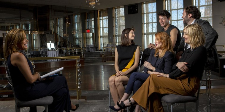 'Fantastic Beasts' cast and JK Rowling talk new movie – watch extended interview