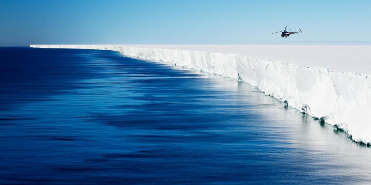 Scientists just discovered that an Antarctic ice shelf is 'singing'