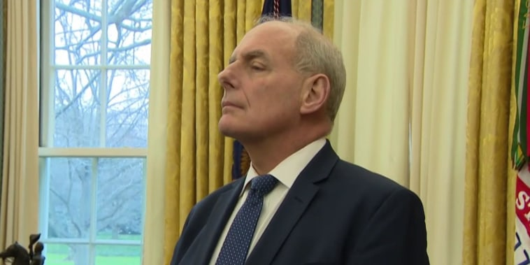 John Kelly insults Elizabeth Warren in disclosed email