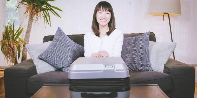 How to pack a suitcase with organizational guru Marie Kondo