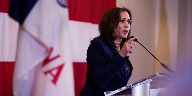 Kamala Harris makes first Iowa impressions while stumping for Democrats