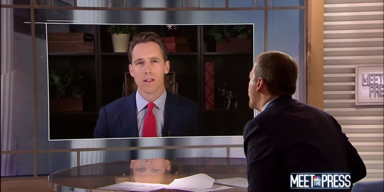 Full Hawley: 'Don't have to have Obamacare' to protect pre-existing conditions