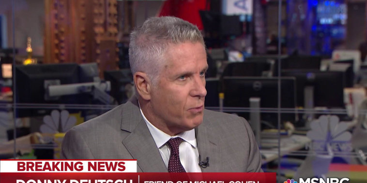 Michael Cohen's friend: I think he knows about collusion