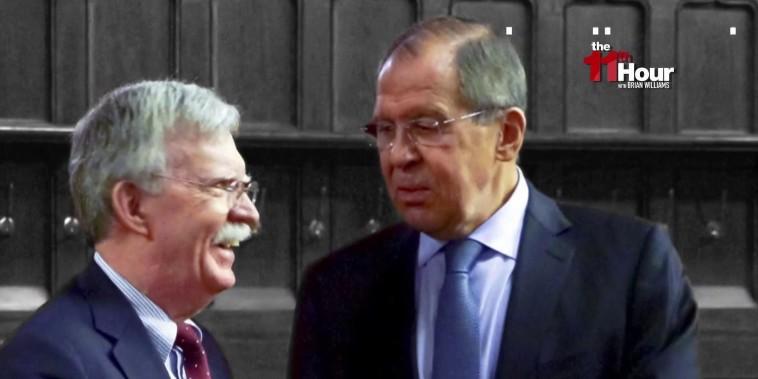 Trump aide Bolton tells Russia meddling had no effect on 2016