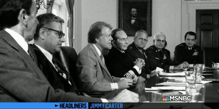 Jimmy Carter on Iran Hostage Crisis