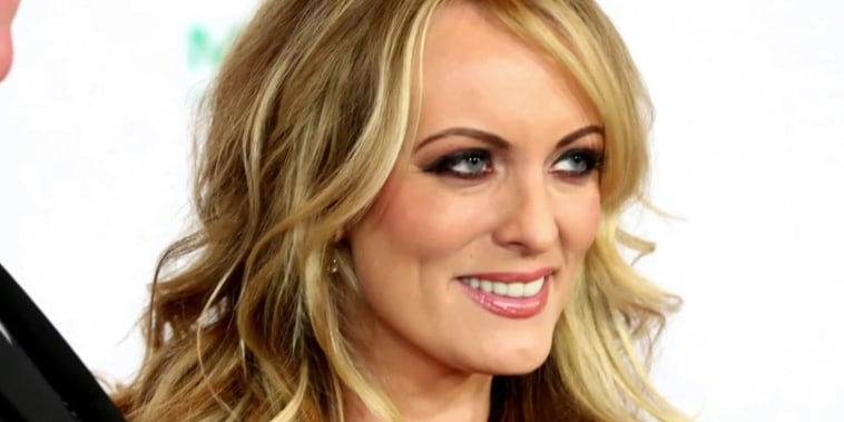 Trump stands by Stormy Daniels tweet in AP interview