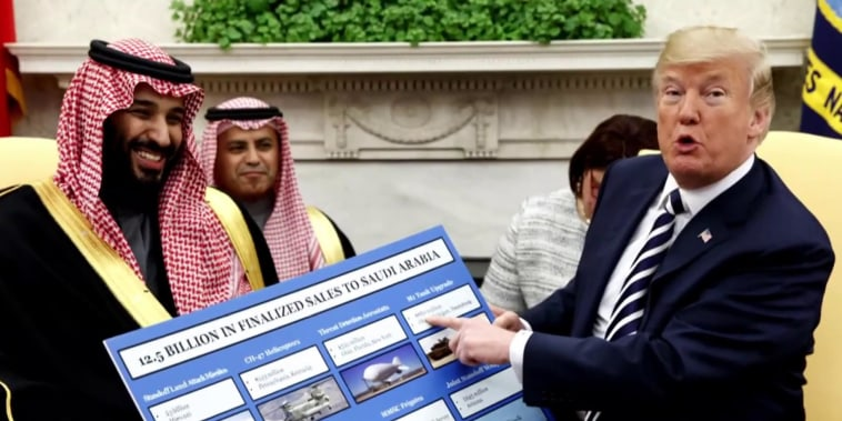 Trump, Pompeo continue to defend Saudi Arabia