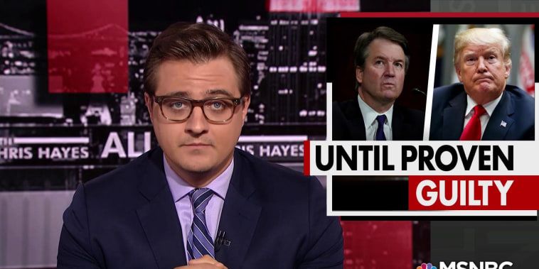 Chris Hayes on the presumption of innocence