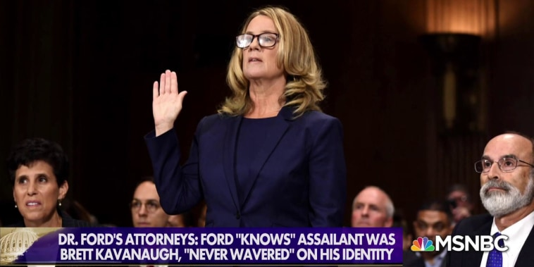 Dr. Ford 'horrified' by President Trump mocking her on campaign trail