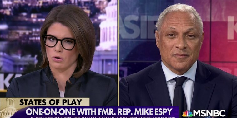 Democrat Mike Espy narrowly leads Republican incumbent in race for key senate seat