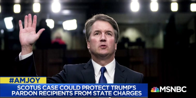 Could Kavanaugh's confirmation strengthen Trump's pardon powers?