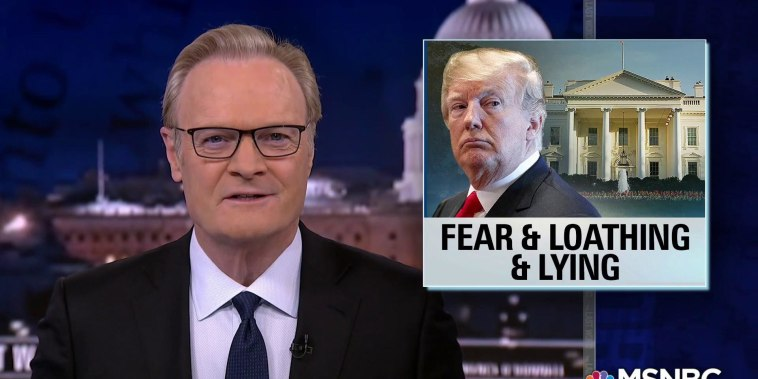 Lawrence: Trump campaigning on 'fear and loathing and lying'