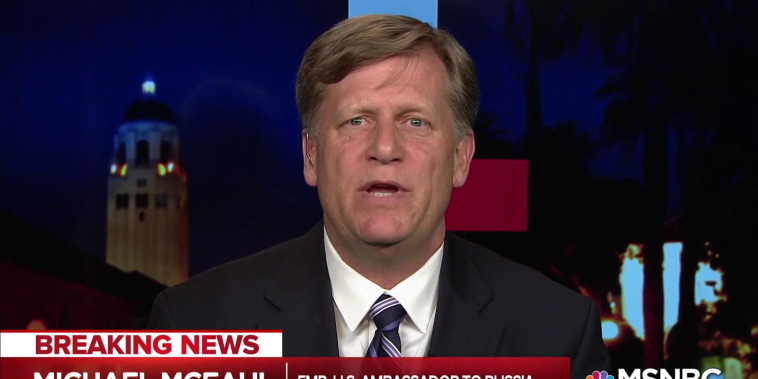Trump weakness after 2016 invited ongoing Russian attacks: McFaul