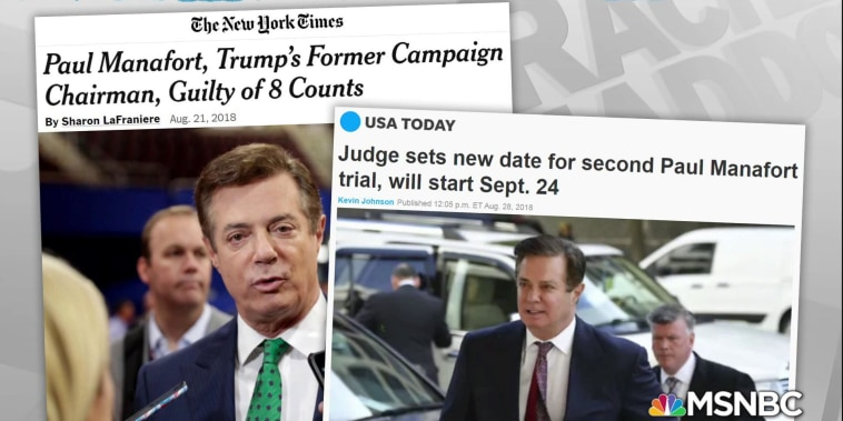 Manafort talking with Mueller, as outlined in plea agreement