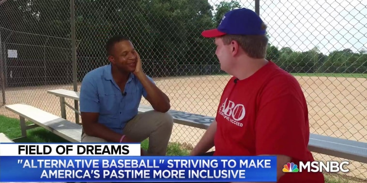 Baseball league breaking barriers for players with special needs