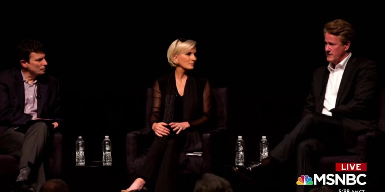 Joe and Mika appear at the New Yorker Festival