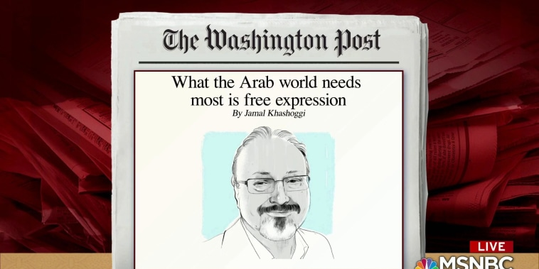 Post publishes last Khashoggi op-ed before disappearance