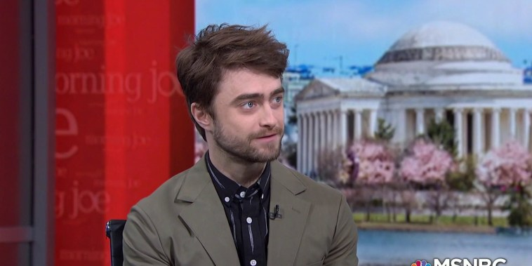 Facts matter in Daniel Radcliffe's new play