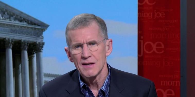 McChrystal: America has a crisis of leadership