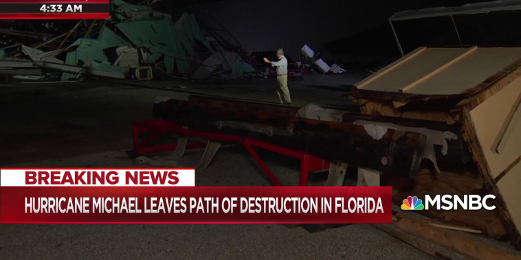 Kerry Sanders surveys devastation in Panama City