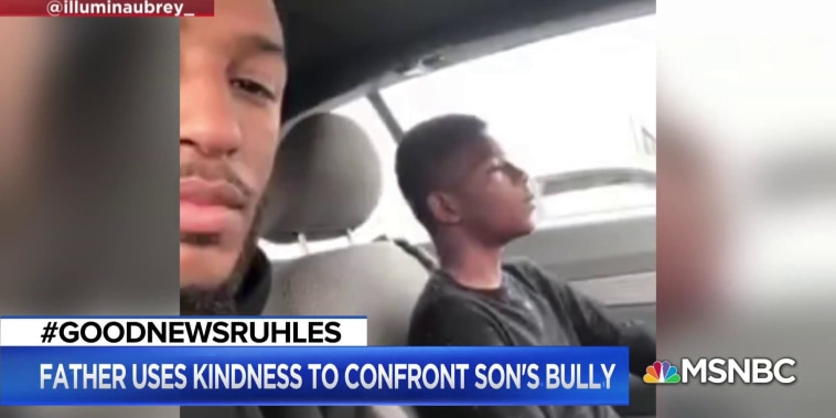 #GoodNewsRUHLES: Father helps son's bully after learning his story