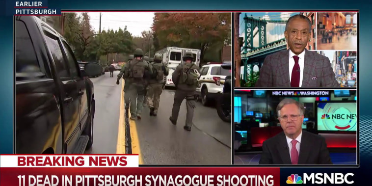 Latest on Pittsburgh Shooting