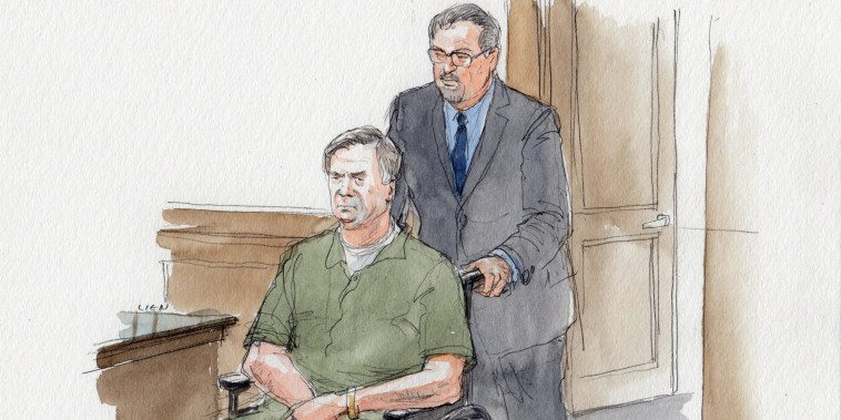 Manfort sentencing date set as he shows up to court in wheelchair