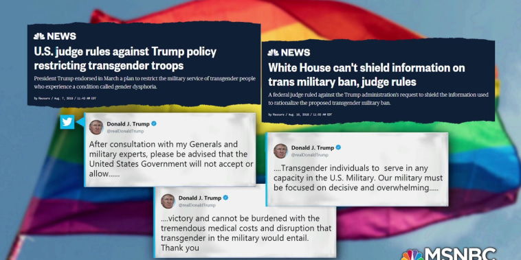 One More Thing: Trump administration aims to roll back transgender protections