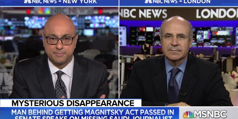 Bill Browder: 'There has to be consequences' for Khashoggi