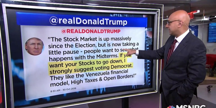 A president's party doesn't have a big impact on U.S. stock returns