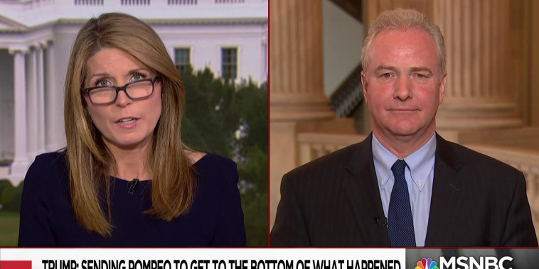 Sen. Van Hollen: Trump's comments on Khashoggi undermine U.S. credibility
