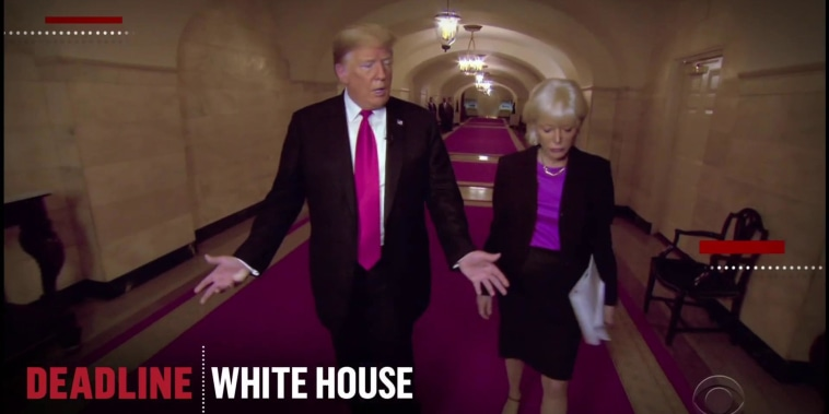 Trump's '60 Minutes' sit down highlights a new approach for the White House