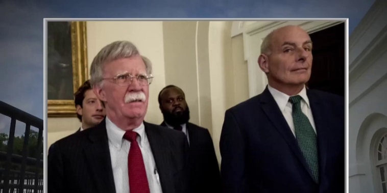 John Kelly and John Bolton have explosive shouting match