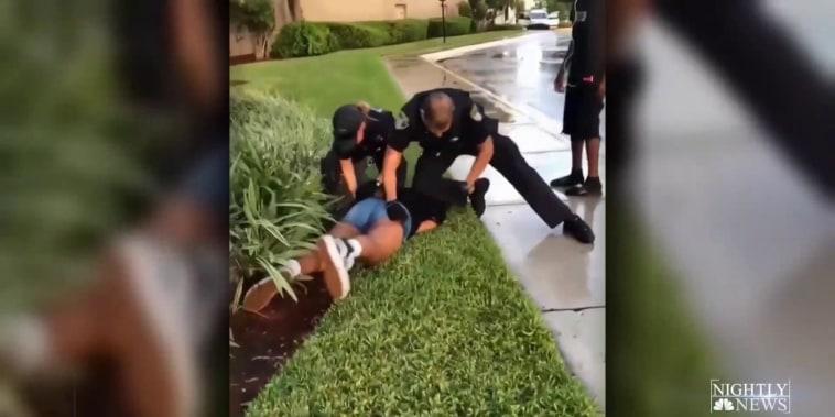 Viral videos show intense police arrests