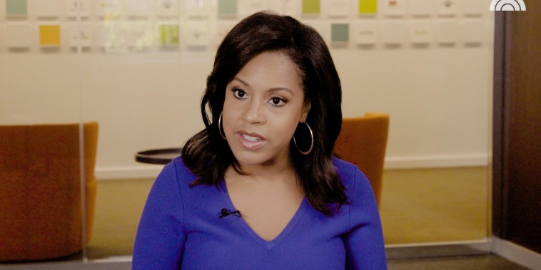 Sheinelle Jones on learning how to make time for herself