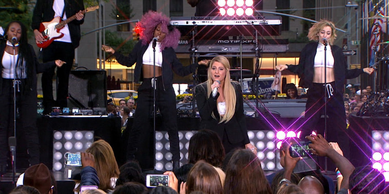 Watch Meghan Trainor perform 'No Excuses' live on TODAY
