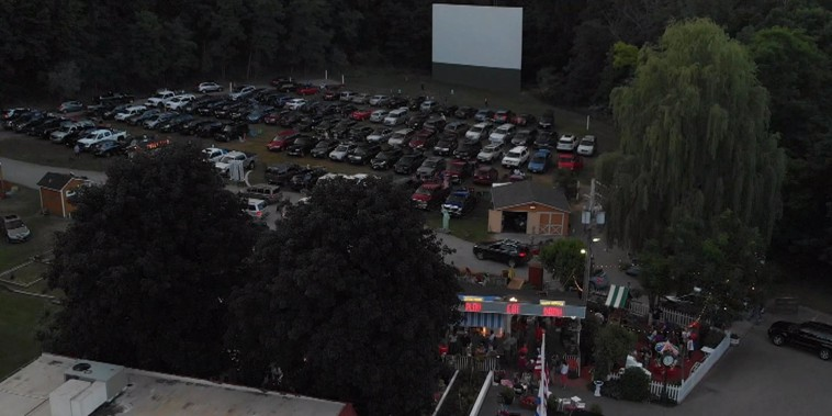 Drive-in theaters are making a comeback!